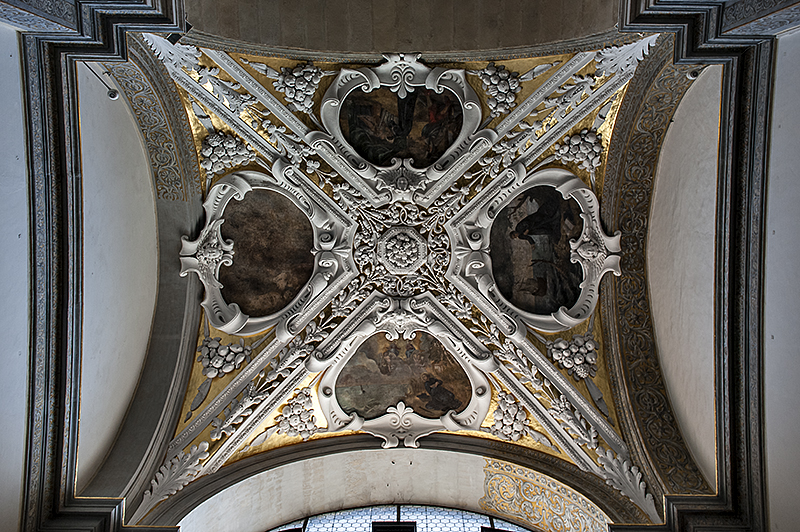 Sts. Peter and Paul, chapel ceiling 3