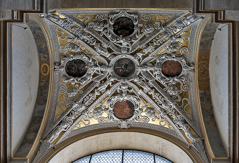 Sts. Peter and Paul, chapel ceiling 5