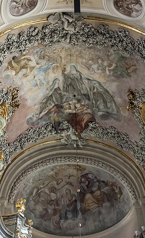 St. Andrews, 3D ceiling
