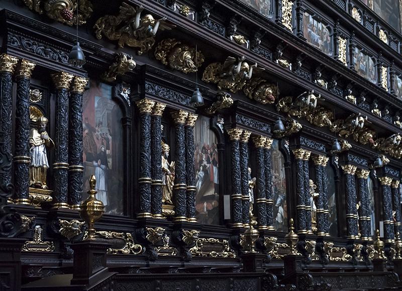Corpus Christi, choir stalls