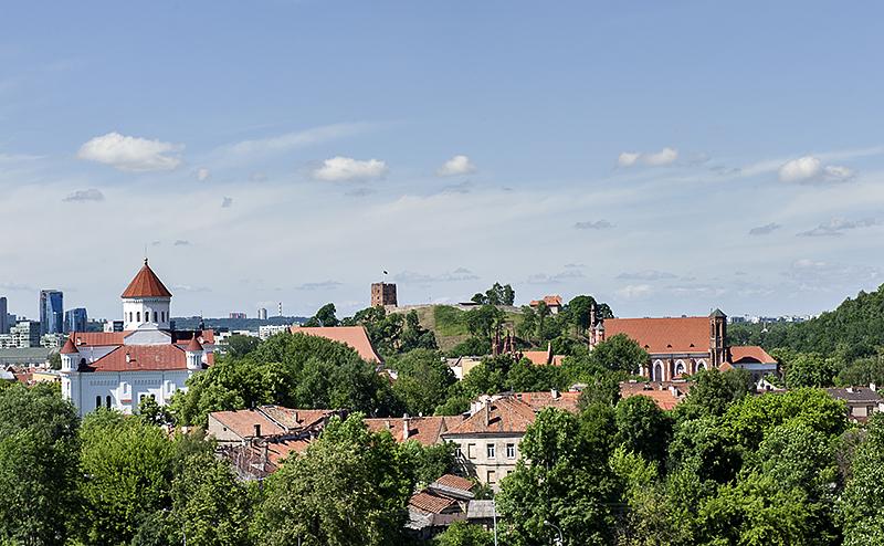 Vilnius, green city