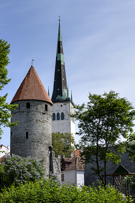 Medieval tower, St. Olavs Church