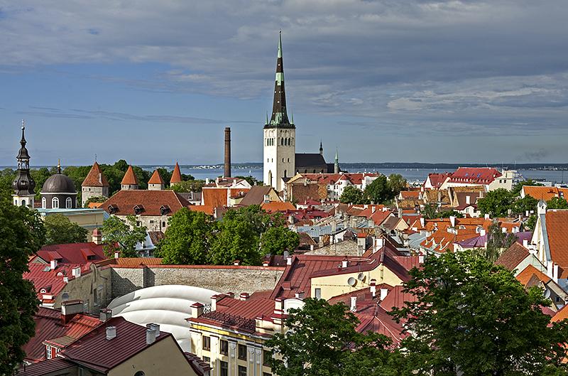 Tallinn and the Baltic Sea