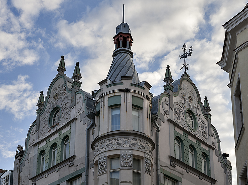 Whimsical building