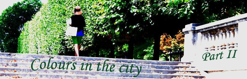 Colours in the city - Part II - Banner