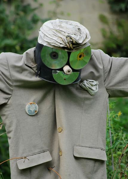 Scarecrow Closeup at Jardin des Plantes