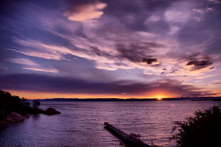 sunset glow (HDR)