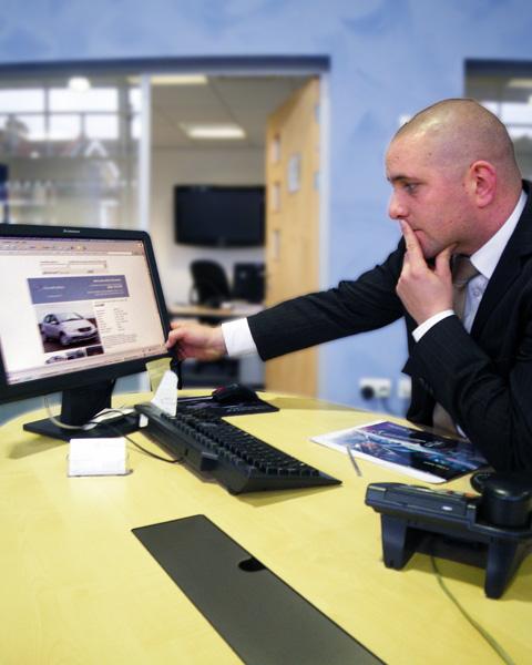 Benjamin, A Car Salesperson