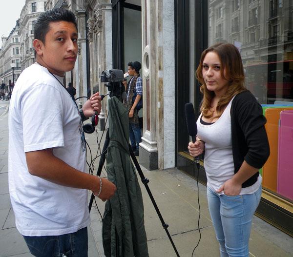 Suprised Pedro & Gina