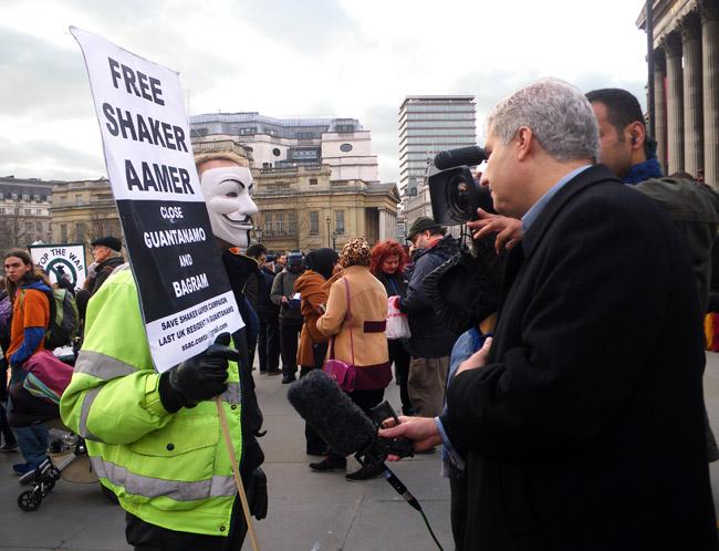 Interviewed by Al Jazeera