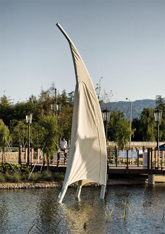 Pond Sail