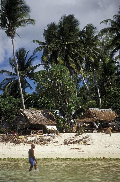 Village homes, Tarawa