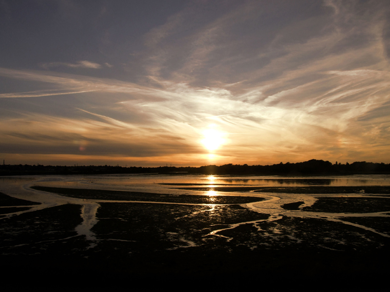 Sunset over Poole