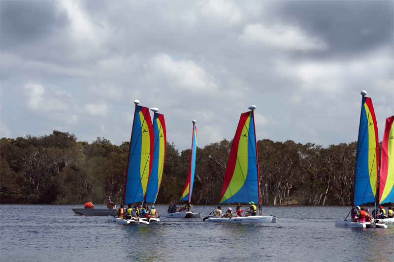 Sailing School~Lake Ainsworth
