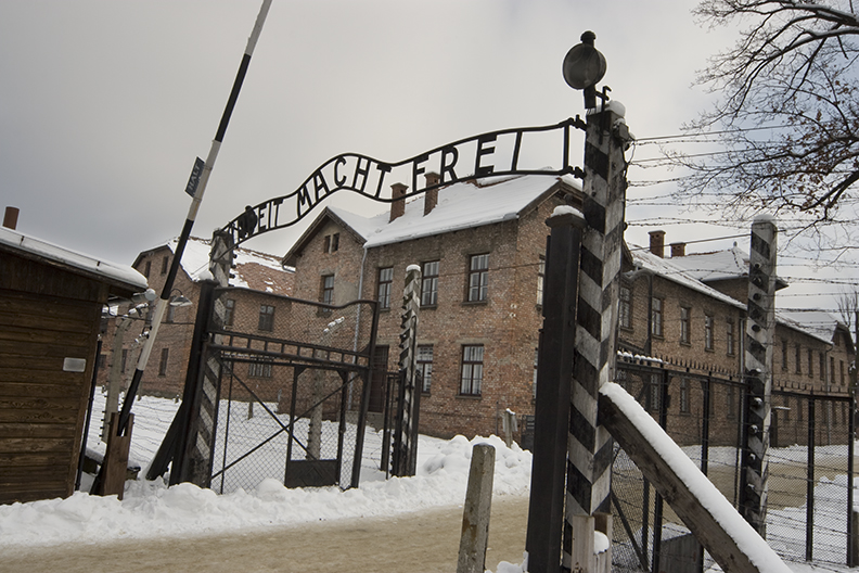 Auschwitz - winter