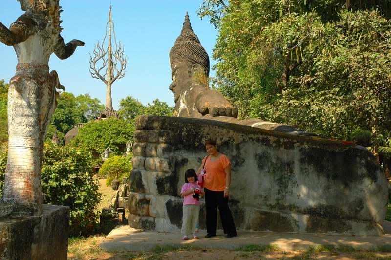 Huge Buddha, Laos 2006
