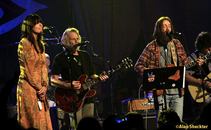 Nicki Bluhm, Bob Weir, Chris Robinson