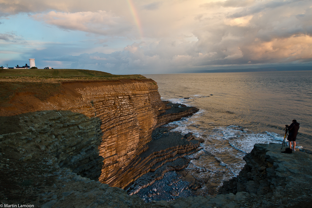 Nash Point - Sunset