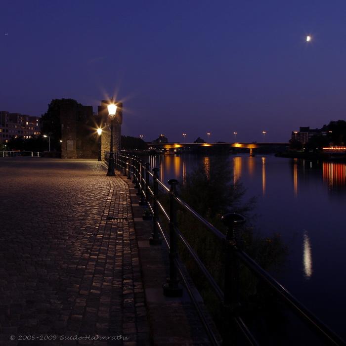 Maastricht by moonlight