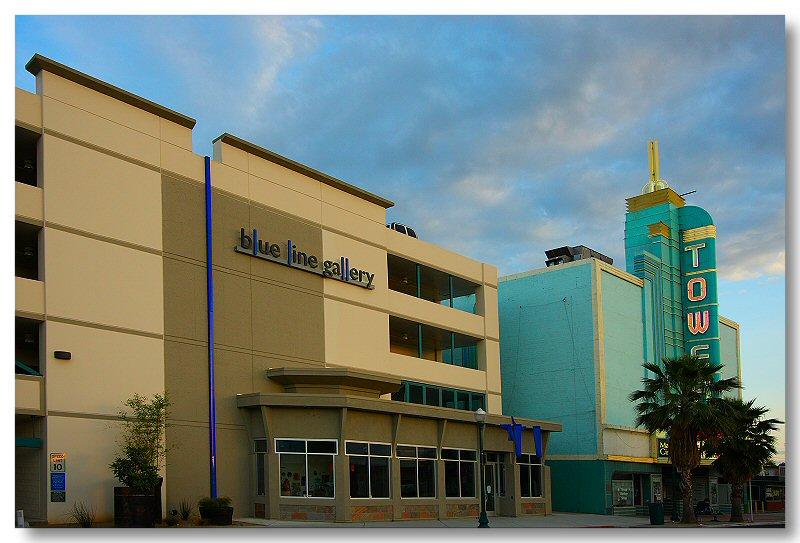 Roseville Blue  line Gallery & Tower Theatre