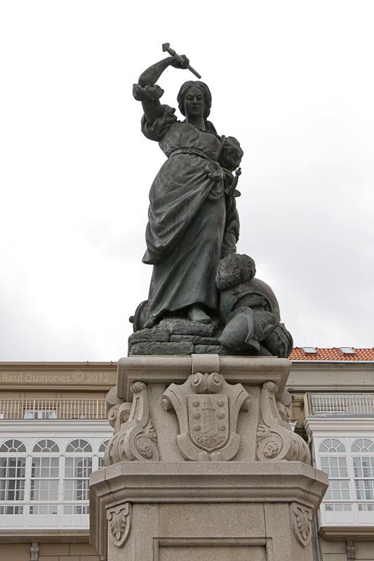 Maria Pita, La Coruña