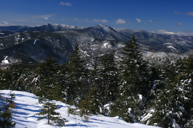 View West from Mt. Chocorua