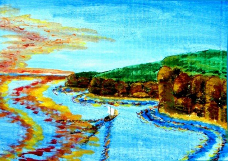 Sheer Coastline<br>by Jeffrey A Boop