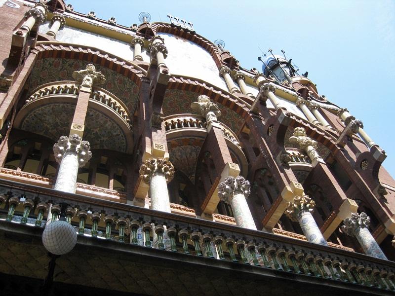 Palau de la Música Catalana (Sant Francesc de Paula, 2) Lluis Domènech i Montaner 1905-1908