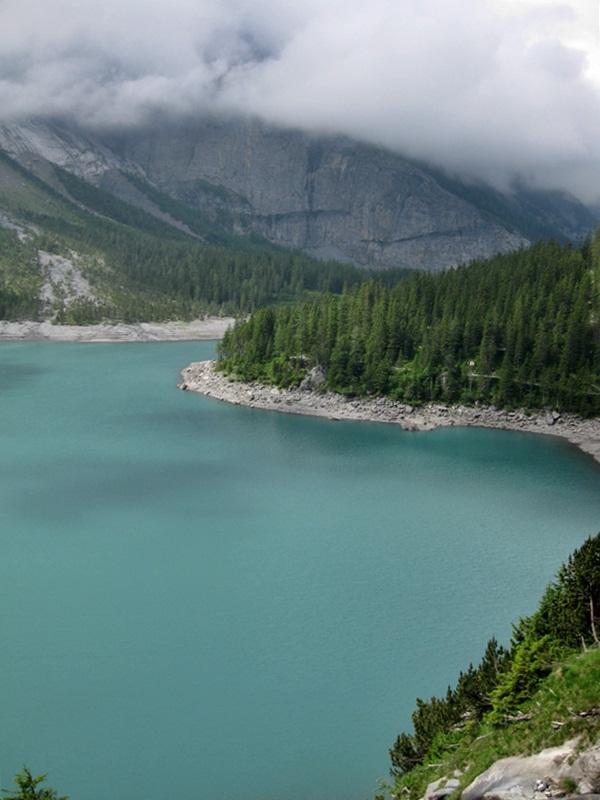 Kandersteg. Oeschinensee (Oeschinen Lake)