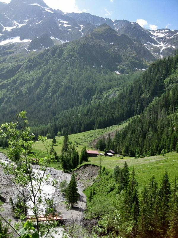 Kandersteg. Gasterntal Valley