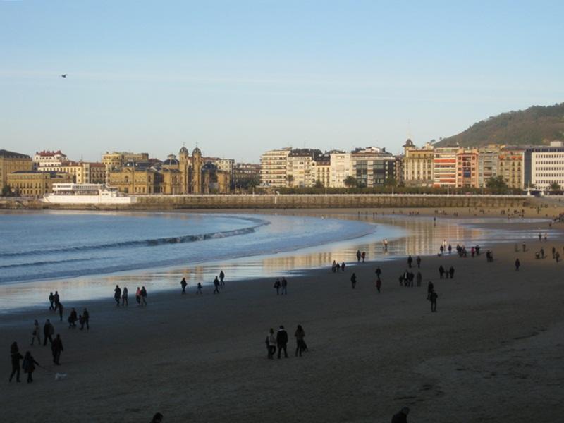 Donostia. Playa de la Concha