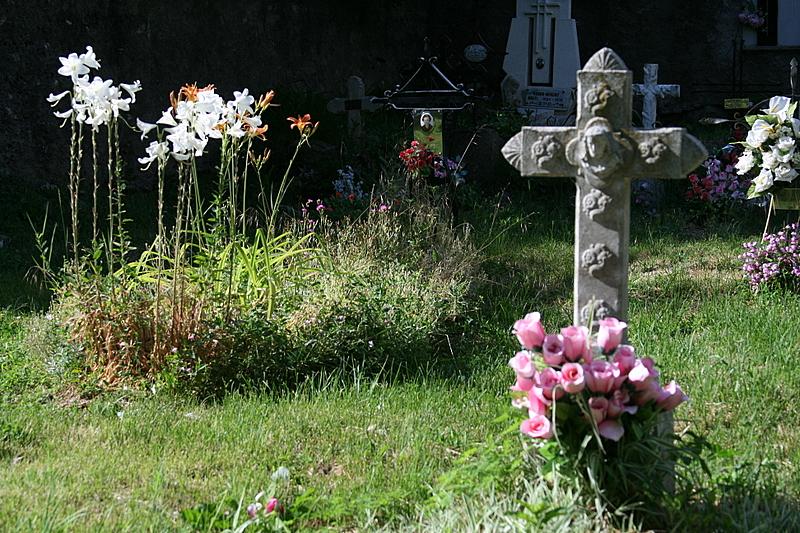 the cemetery of la Natititat de Durro.