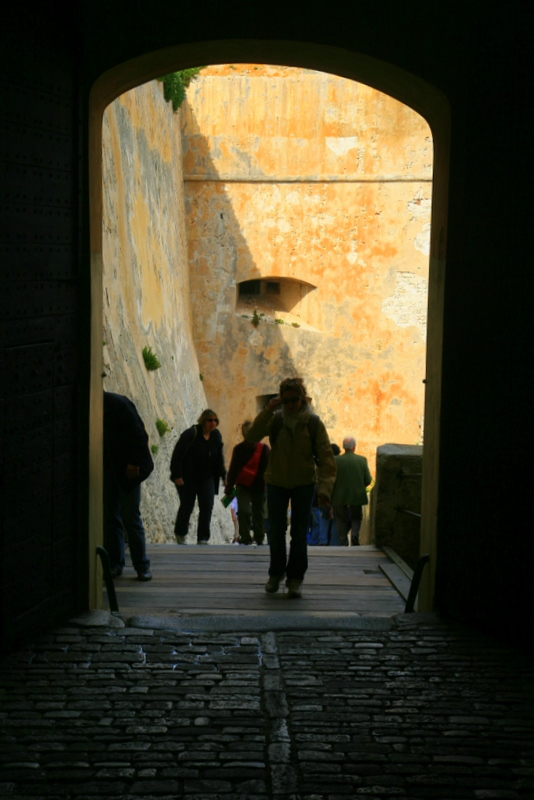 entry of the Citadelle.