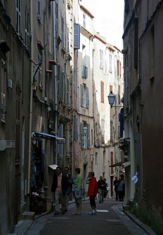 a side street.