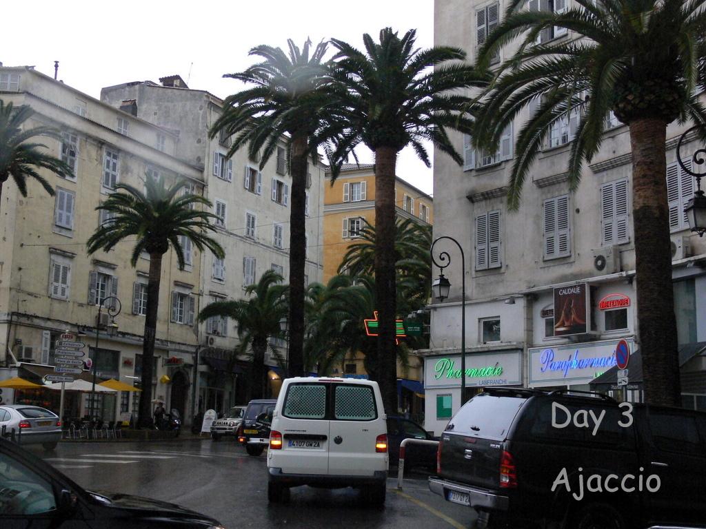 Il pleut à Ajaccio