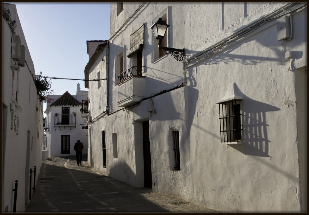 the streets of Vejer