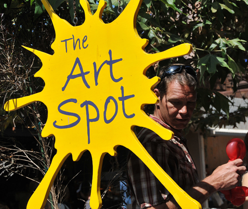 Marks the Art Spot!