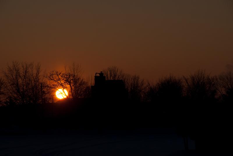 New London Sunset  ~  January 27