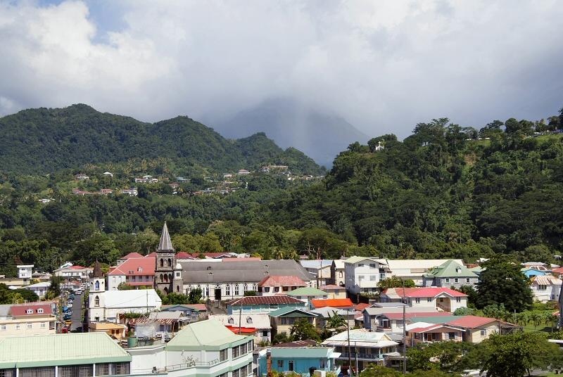 Dense rainforest and volcanoes abound