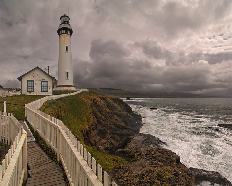 Pigeon Point Stormy Monday