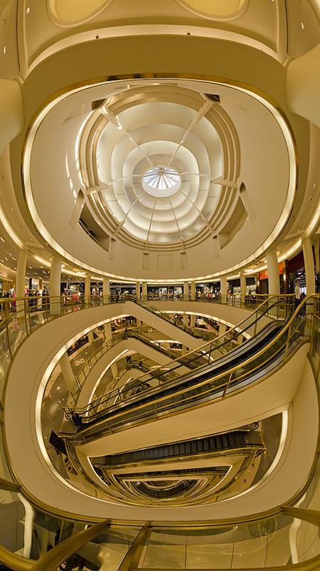 Nordstrom Escalators Vertorama