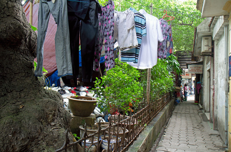 Laundry from Another Perspective