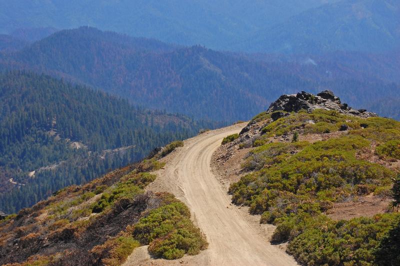 Mountaintop road