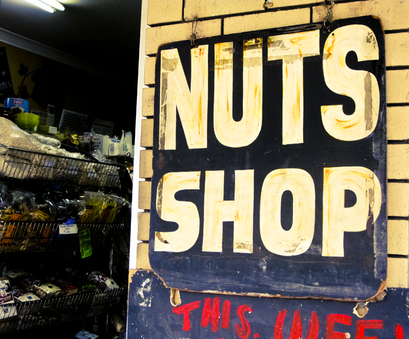 Our local Nuts shop