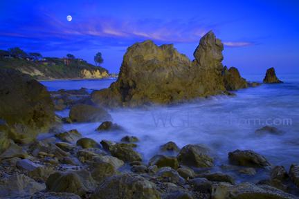 Coastal Moonlight