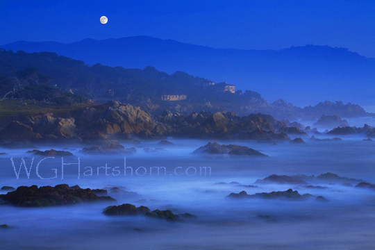 Rocky Cove Ethereal Moonlight