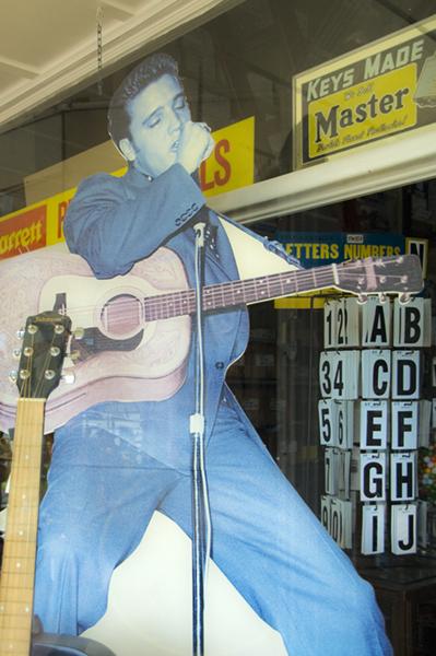Elvis Looking Blue