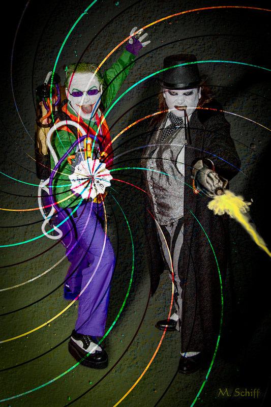 The Joker and Penguin