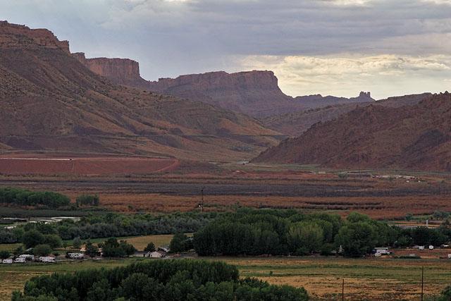 On Hiway 191 nearing Moab