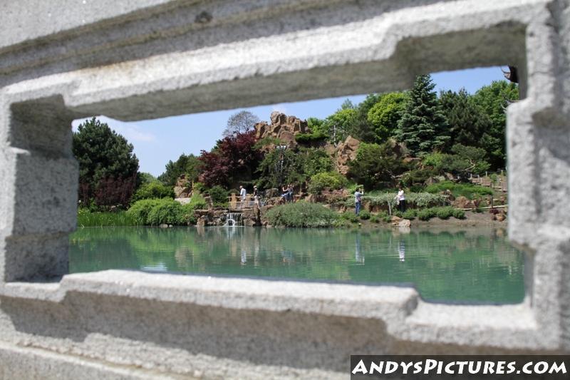 Window to Montreals Japanese Tea Garden